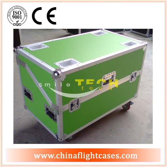"LED container case for 10unit LED Display Screen with 4"" Cas"