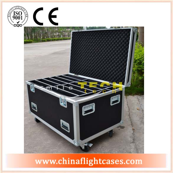 LED Case for 12unit LED Screen with Storage & Caster