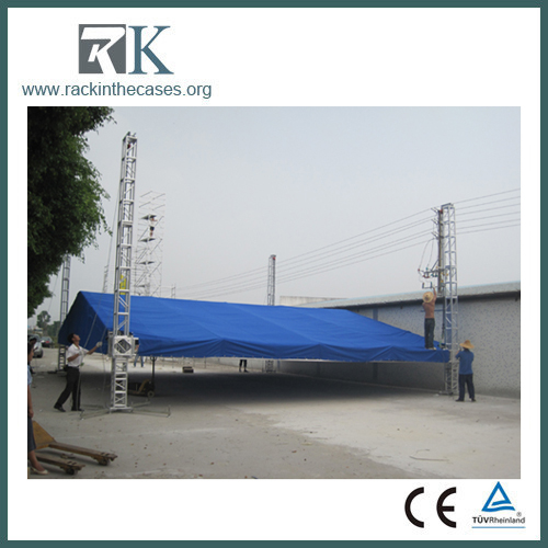 Roof lighting aluminum truss system