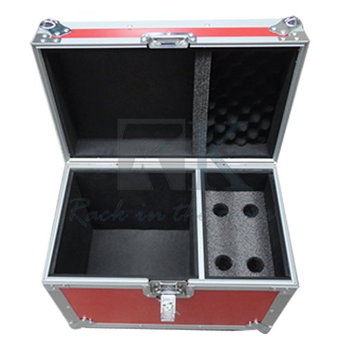 new design microphone flight case with Compartment for micro