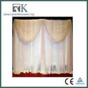 RK Telescopic Pipe and Drape System for Hotel Decoration