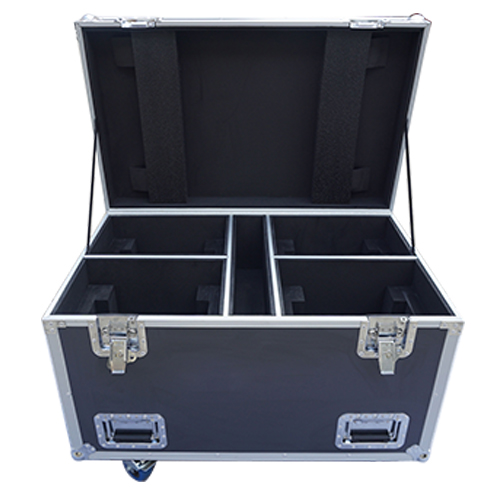 ATA 300 lighting flight case fit for 4 moving heads