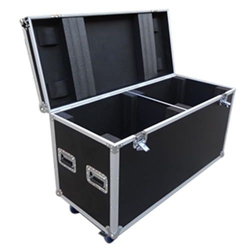 Dual Moving lifhting flight case moving head road case