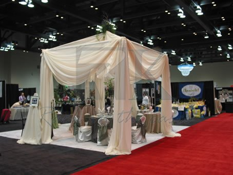 Pipe and Drape kits for Trade show and Exhibition
