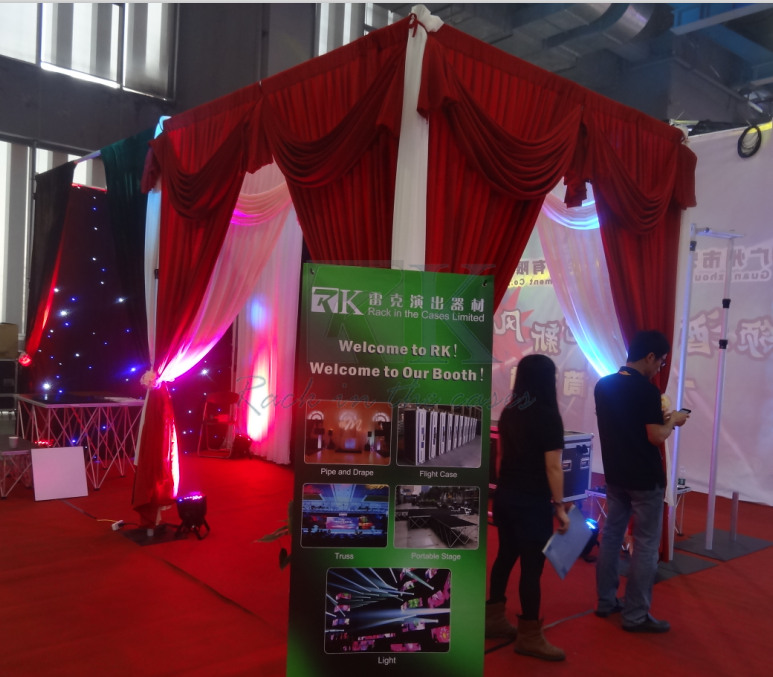 Square shape of Trade show Decoration with lower price