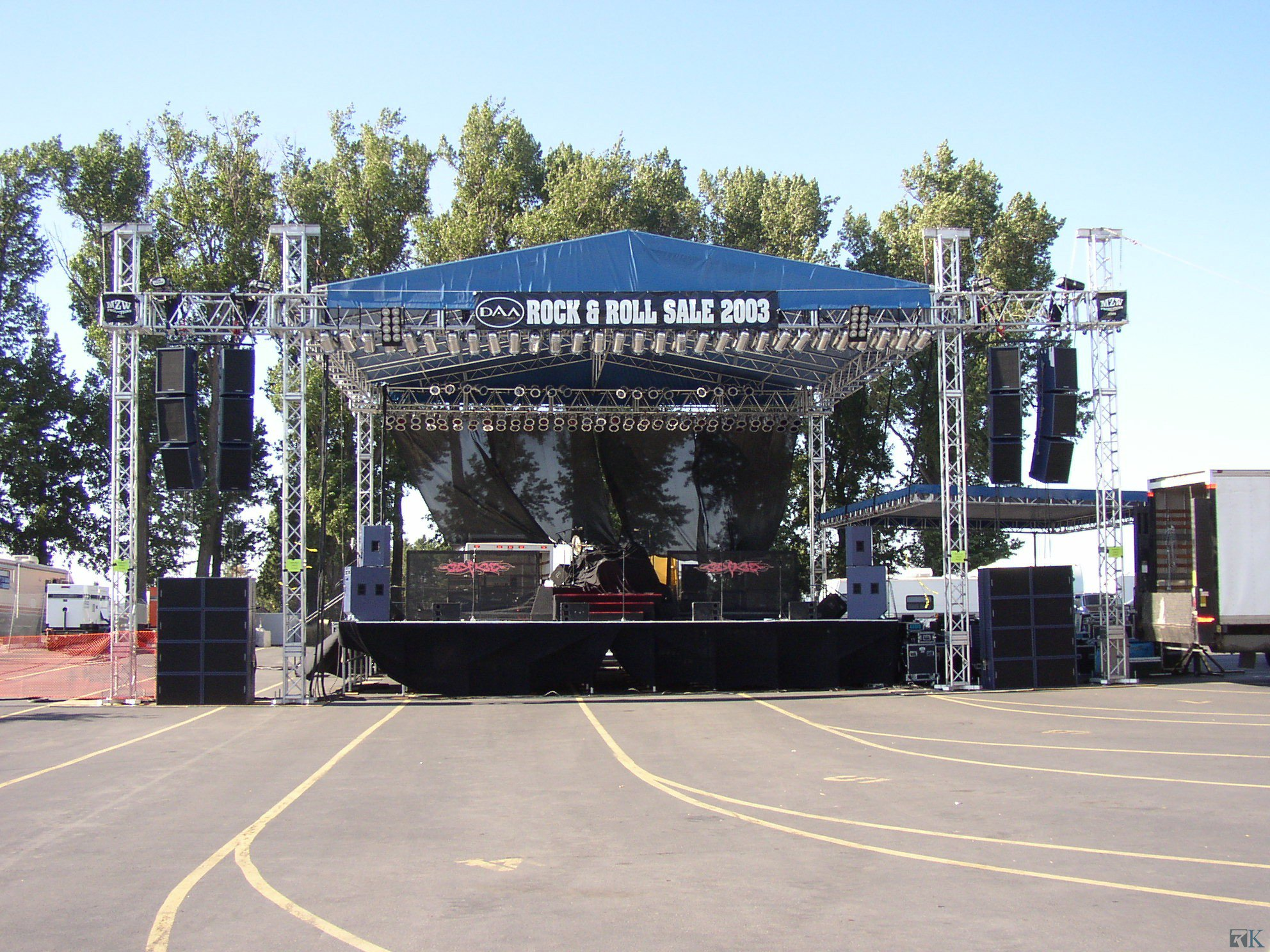 Lighting Tower and Outdoor Stage Truss Circle Truss