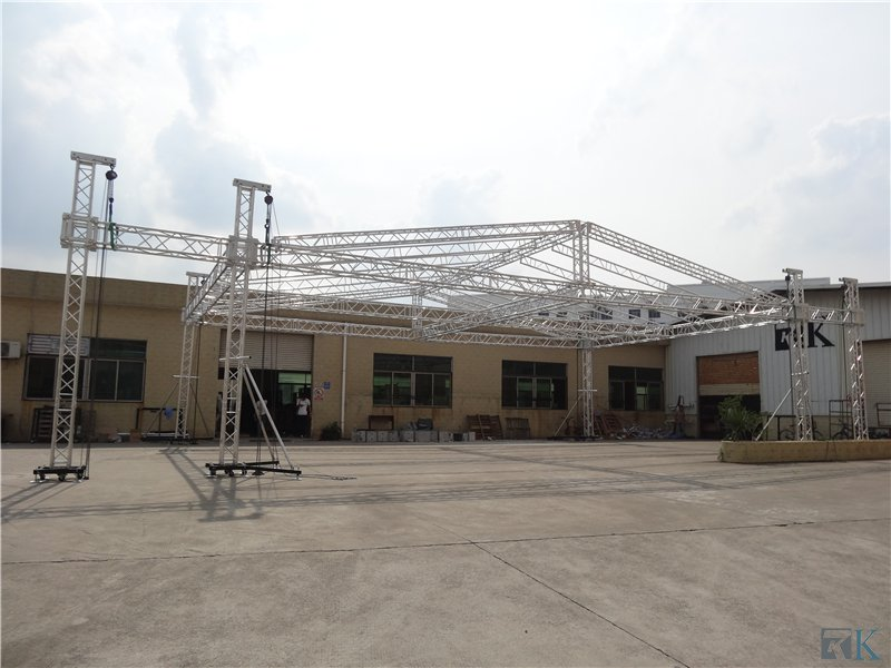 2017 Exhibition Truss Spigot Light Truss Aluminum Lighting T